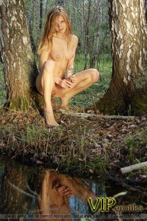 Эта тёлка в лесу