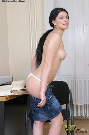 Новая секретарша работает