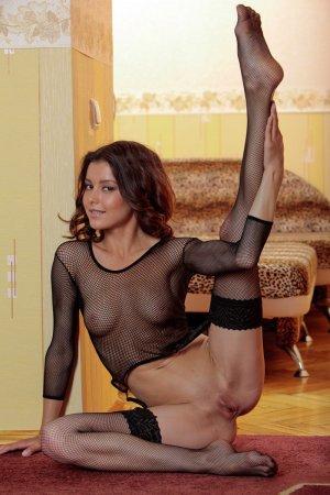 Девка в чулках очень секси