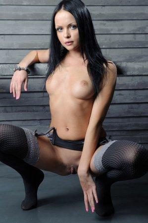 Секретарша в эротичном белье