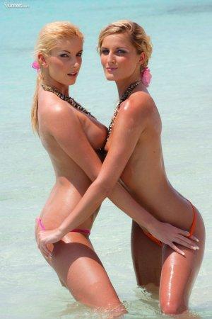 Две лесбиянки на море