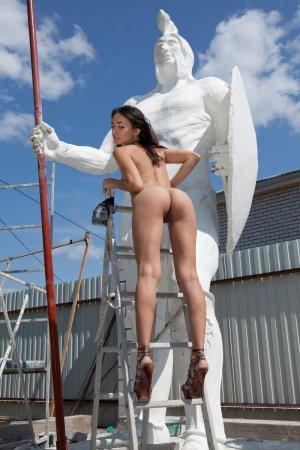 Красивая сучка - строительница
