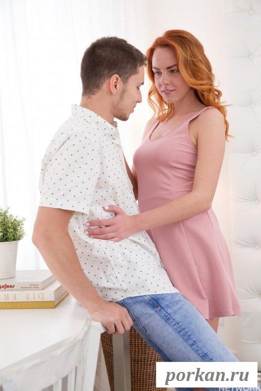 Секс с рыжей девушкой (16 фото)